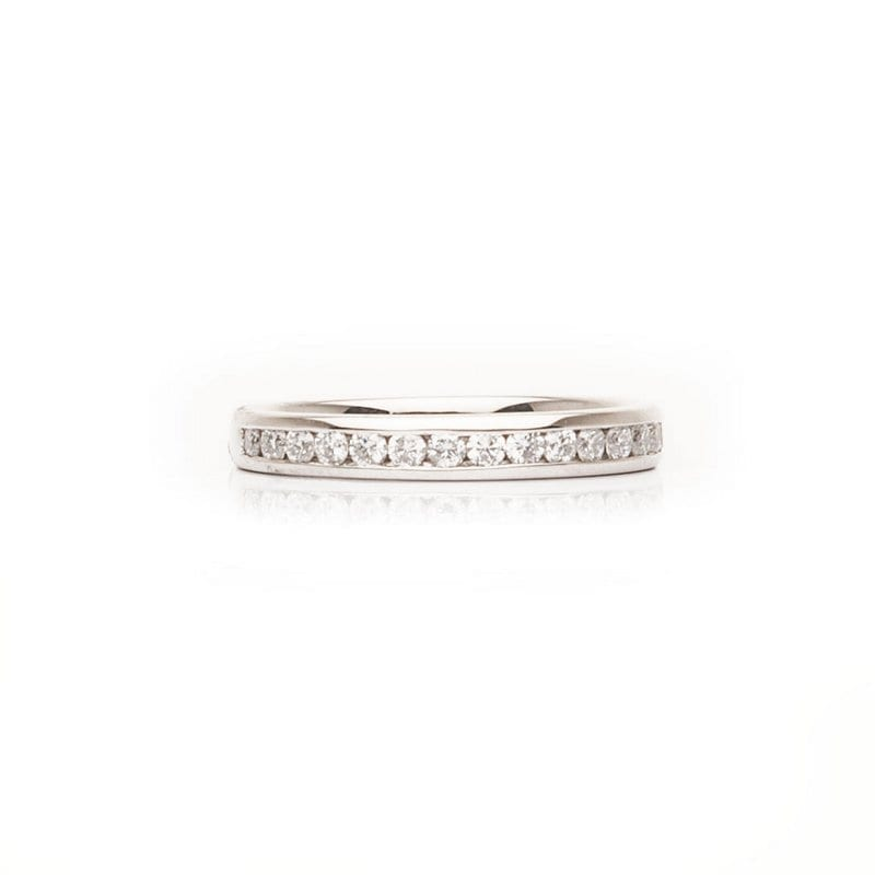 Traditional Channel Set Ring